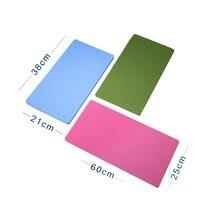 60*25cm Yoga Knee Pad Pilates Fitness Equipment Non-Slip Useful Accessory High Quality TPE Path Random Color Ship