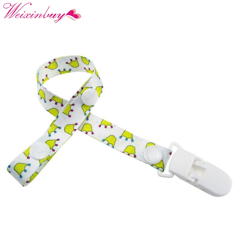 Children Pacifier Clips Soother Holder Baby Pacifier Dummy Clip Nipple Holder For Nipples Chupetas Popular Clip Chains