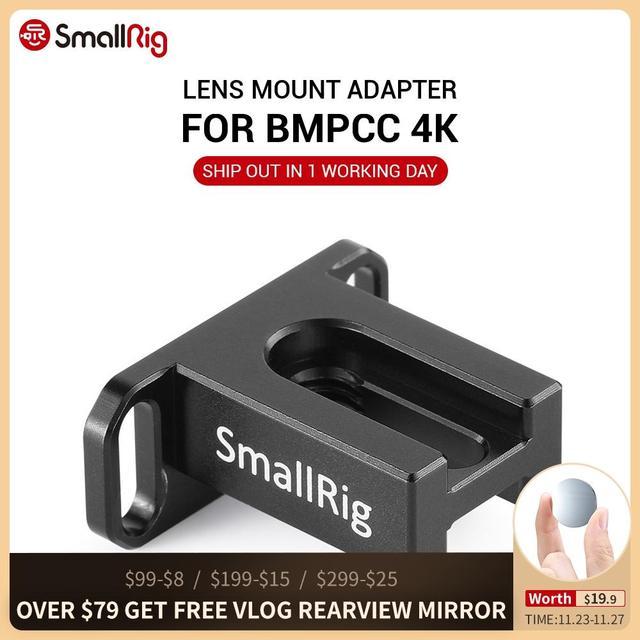 SmallRig מצלמה עדשת הר Metabones מתאם תמיכה BMPCC 4K 2247