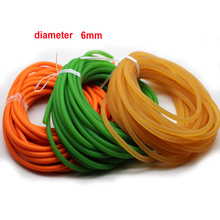 Fishing-Lanyard Rope Elastic Solid Rubber 6mm Peces Lineretractable Smycz Colorful 5-10meters-Diameter