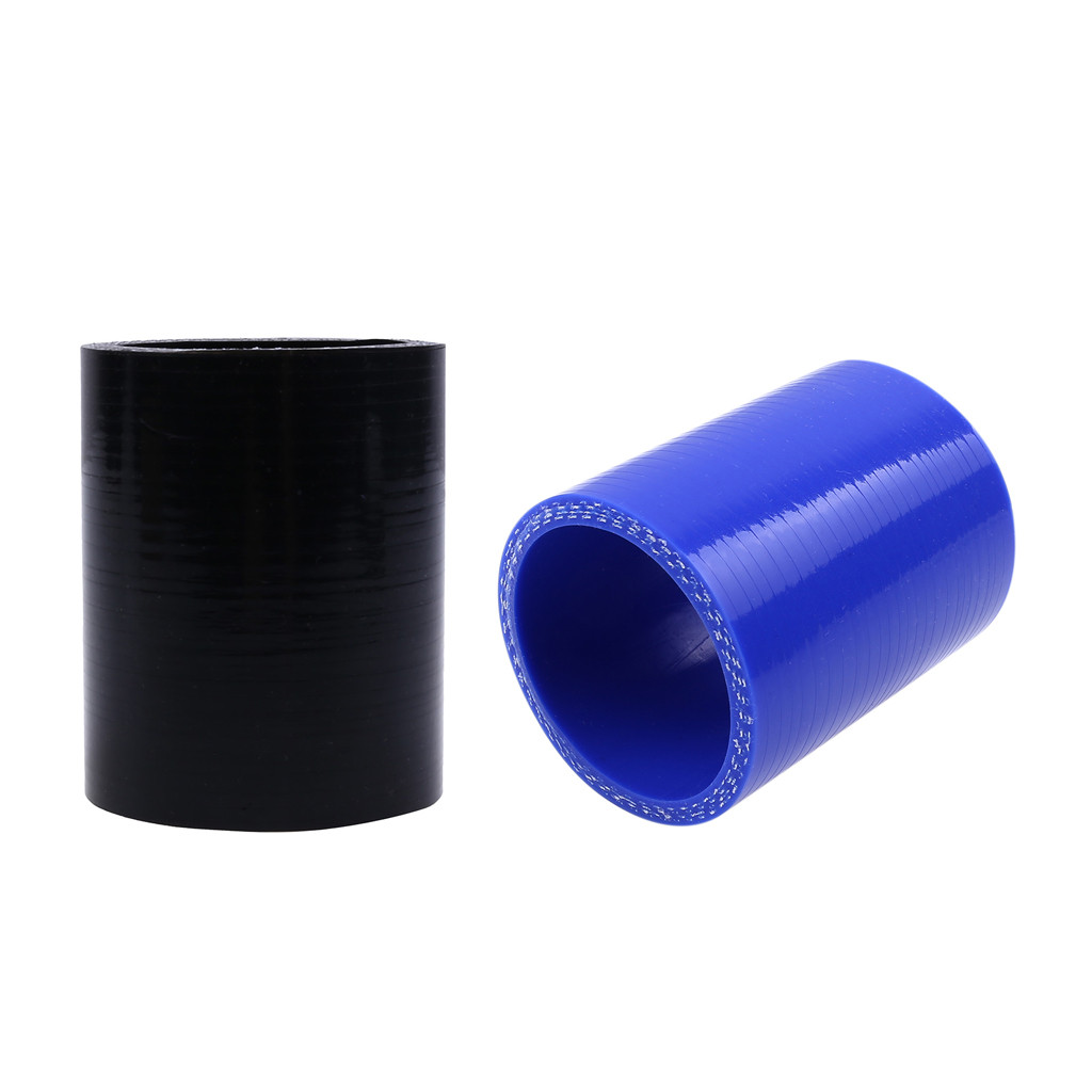 """BLACK 2.5/""""-2.5/"""" AIR INTAKE//PIPING RUBBER COUPLER FOR BMW"""