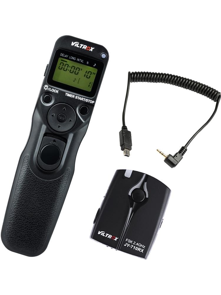 Viltrox JY-710-N3 câmera sem fio temporizador liberação do obturador de controle remoto para nikon d90 d3200 d5600 d7500 d760 d750 d600 z6 z