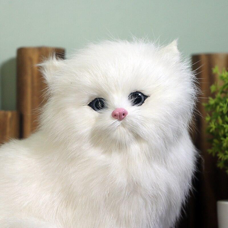 Image 5 - Peluche animaux en peluche modèles de chats réalistes catkids jouets cognitifs poupées de chat réalistes enfants cadeaux décorationAnimaux en peluche   -