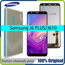 Orijinal 6.0 samsung LCD Galaxy J6 + J610 J610F J610FN Ekran LCD Ekran samsung için yedek J6 Artı ekran