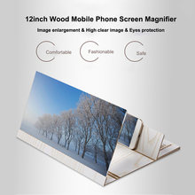 Universal Mobile Phone Screen Magnifier Bracket Enlarge Stand Eyes Protection Folding 3D Video Screen Display Amplifier(China)