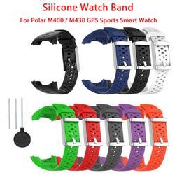 Sport Strap For Polar M400 M430 GPS Running Smart Sports Watch Band Silicone Wristband Bracelet Belt Wrist Strap Accessories
