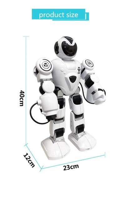 RC الروبوتات لعب للأطفال صوت الحوار الذكية روبوت الغناء روبوت راقص ألعاب تعليمية للأطفال جهاز روبوت للتحكم عن بعد 5