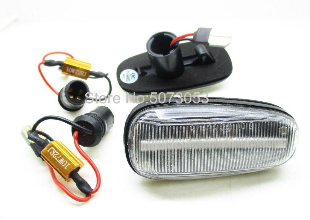 2x Mercedes B-Class W245 18-LED Rear Indicator Repeater Turn Signal Light Bulbs