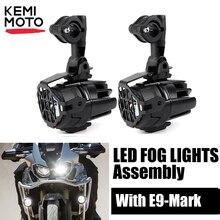 أضواء الضباب العالمية لهوندا أفريقيا التوأم CRF1000L NC700X VFR1200X Crosstourer لسوزوكي الخامس ستروم DL 650 1000 لكاواساكي