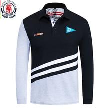 Camisa polo bordada fredd marshall, outono 2019, algodão, casual masculina 066