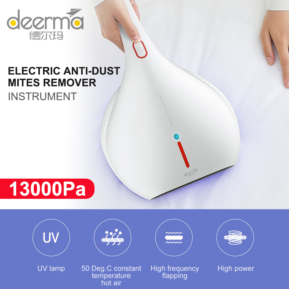 DEERMA Electric Anti Dust Mites Remover UV-C Vacuum Cleaner with 13000 PA Suction Power for Pillow mattresses and Sofa 4