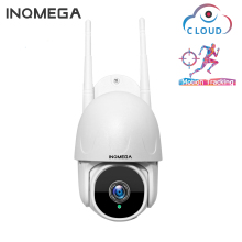 INQMEGA 1 дюйм облако 1080P PTZ скорость купольная Wifi камера наружная 2MP авто-отслеживающая камера беспроводная камера домашнее наблюдение IP Cam