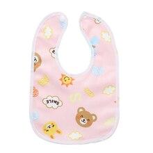 3/Pcs Cute baby Towel Bib Cartoon Saliva Towel For Newborn Boys And Girls Children Eating Bib Feeding Nursing Clothes Waterproof