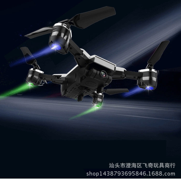Yh-19hw Set High Folding Unmanned Aerial Vehicle Xs809 WiFi High-definition Aerial Photography Quadcopter Remote Control Aircraf