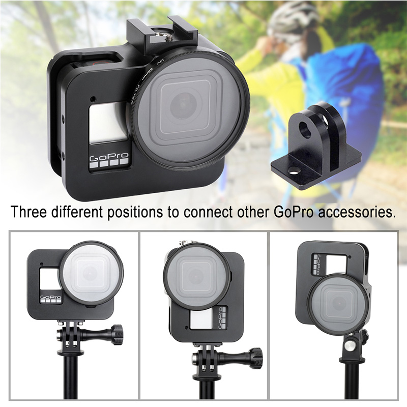 Xdashou Lens Accessories Waterproof Case Lens Rubber Ring for GoPro HERO2
