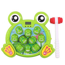 Interactive Whack A Frogs Game, Learning, Active, Early Developmental Toy Children's Leisure Toys Puzzle Juguete #GM(China)