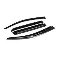 ABS Car Window Cover Visor Sun Rain Wind Deflector Awning Shield ABS For Chevrolet RG 12-19