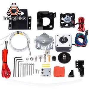 Image 2 - Trianglelab 3d принтер Titan Aero V6 hotend экструдер полный комплект titan экструдер полный комплект reprap mk8 i3 совместимый TEVO ANET