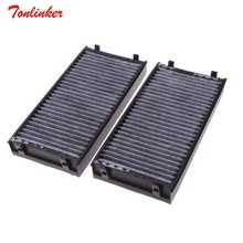 Car Cabin Filter OEM 64119248293,64316945586 2Pcs Fit For BMW E70 X5 2006 2013/For BMW X6 (E71, E72) 2007 2014 Model Filter