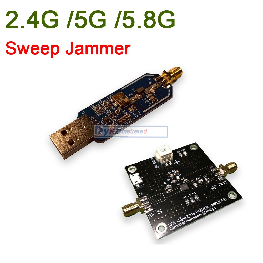 2W Jammer Power-Amplifier Disturber Wifi Shielder 5G Sweep Development-Board/1w title=