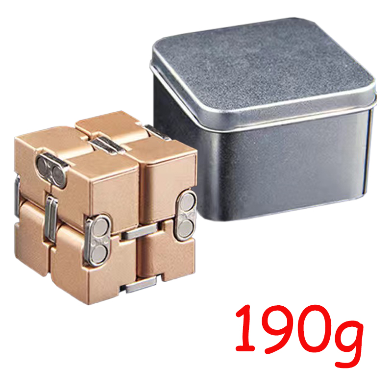 Cube-Toys Infinity-Cube EDC Metal Relief Magical Anxiety Aluminium for Deformation Premium img5