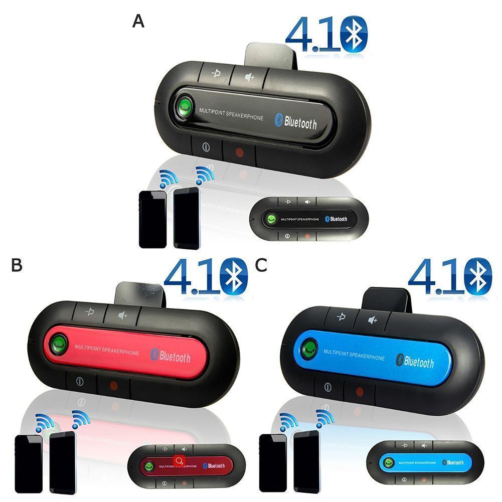 Wireless Bluetooth Handsfree Car Auto BT501 Sun Visor Phone Player 4.1 Mp3 Receiver Hands-free Car Car BT980 Bluetooth W3V6