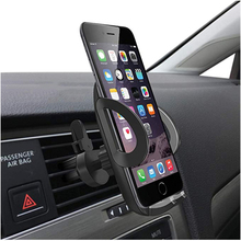 No Magnetic Car Phone Holder Support Telephone Air Conditioning Vent Stand