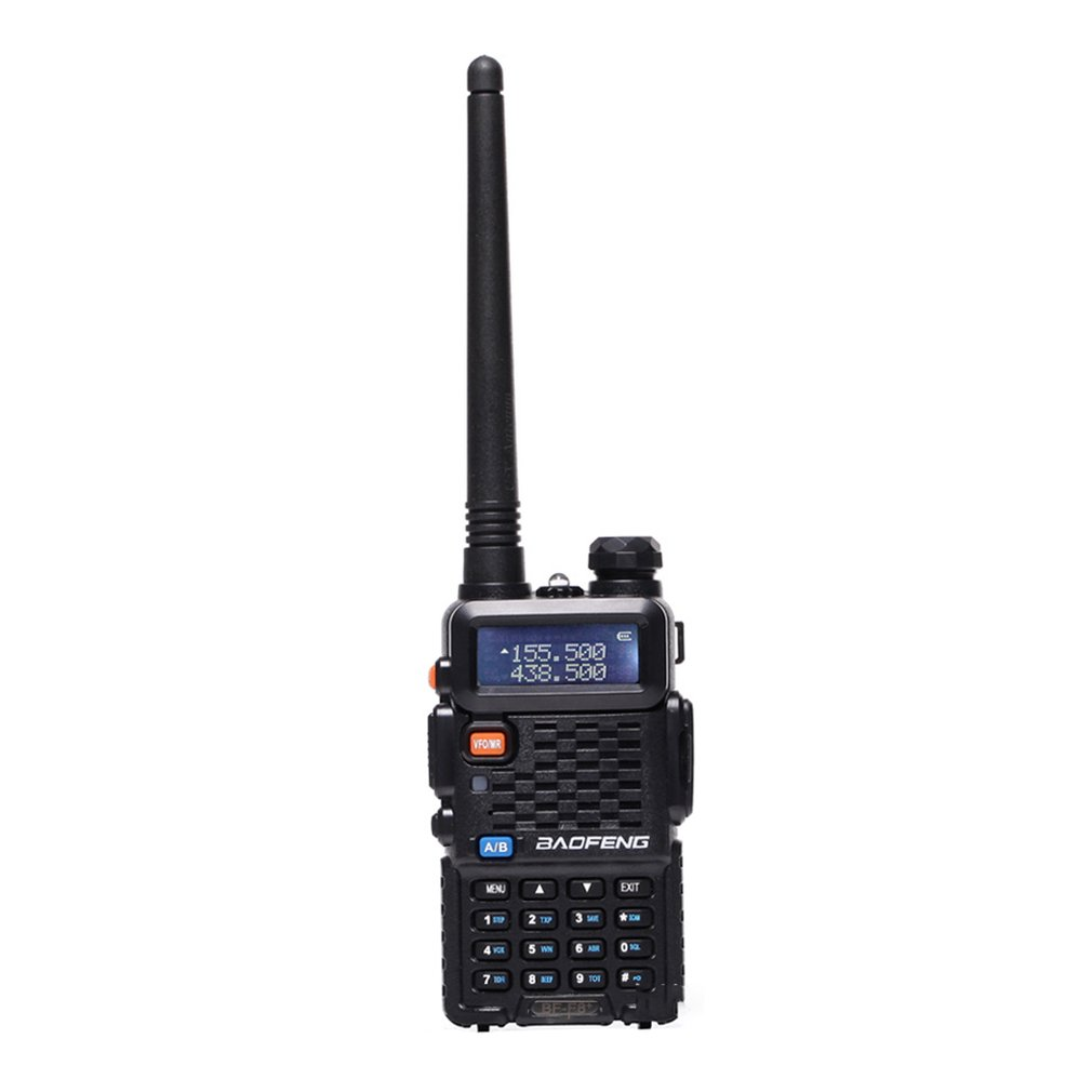 Baofeng BF-F8 + Upgrade New Walkie Talkie Police Two Way Radio 5W UHF VHF Dual Band Outdoor Long Range Ham Transceiver