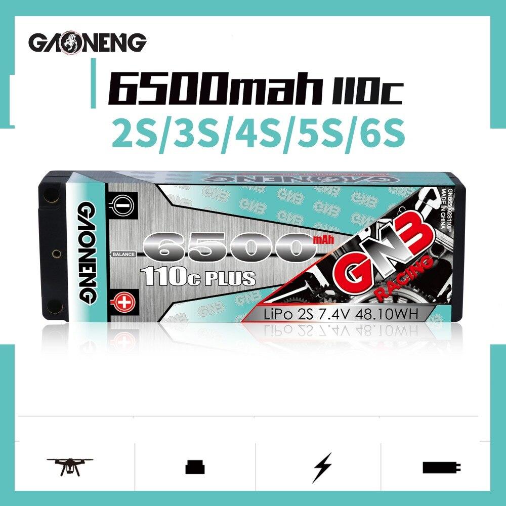 Gaoneng GNB 3300MAH 90C 2S 3S 4S 5S 6S Lipo Battery XT60 XT90 Dean Plug Connector FPV Battery 7.4V 22.2V Off-road Car Batteries