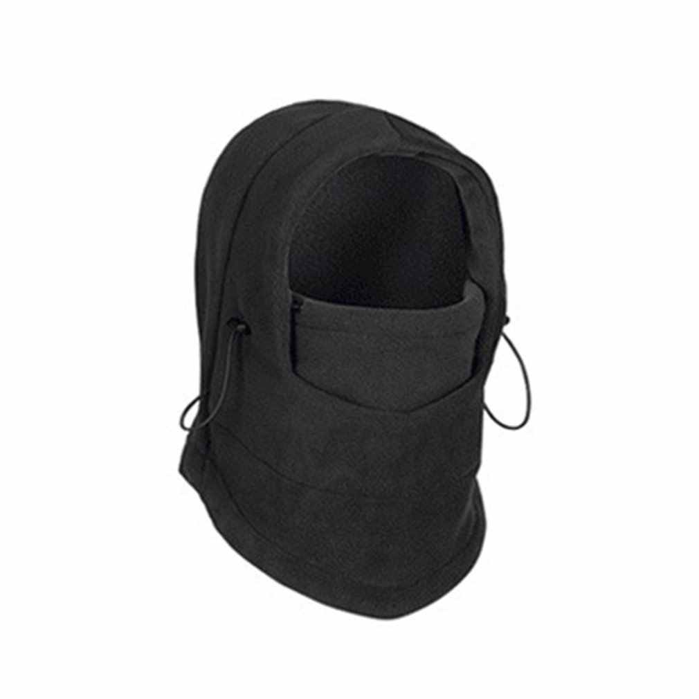 Winter Cycling Windproof Warm Fleece Hat Full Face Mask Double Layer Multifunction Outdoor Riding Sports Cap For Men & Women New