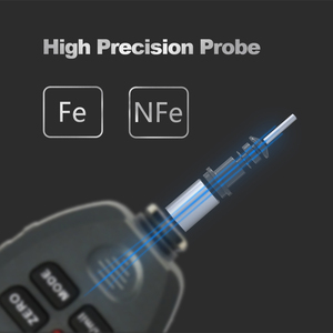 Image 5 - R&D TC100 Coating Thickness Gauge 0.1micron/0 1300 Car Paint Film Thickness Tester Measuring FE/NFE Russian Manual Paint Tool