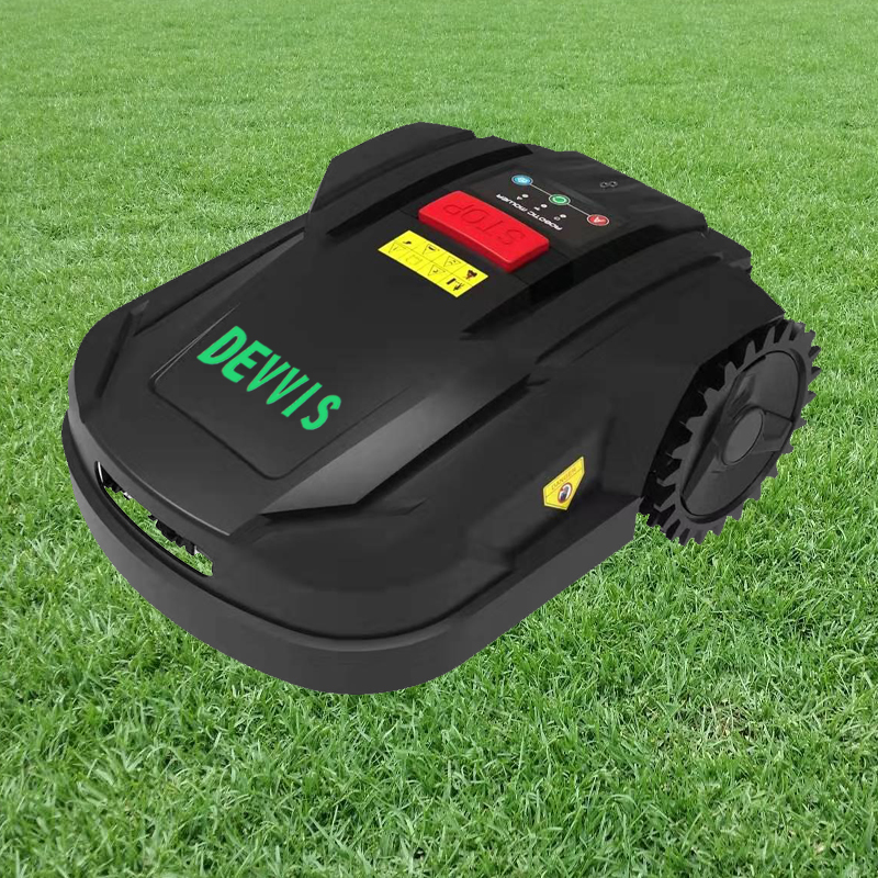 DEVVIS TWO Year Warranty 2021 Newest 7th Generation Robot Grass Trimmer Cutter H750T for Smallest Lawn