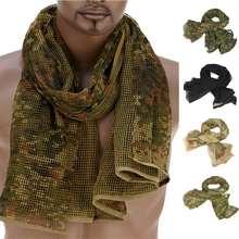 190*90 см хлопковый шарф военный камуфляж тактический сетки