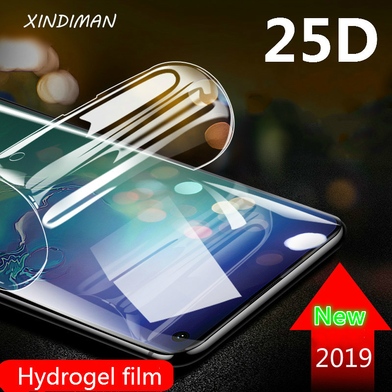 25D Soft Hydrogel Film For Samsung Galaxy S8 S8plus Front Back Screen Protector For Samsung S6 S7 S9 S9plus S10 S10plus S7edge