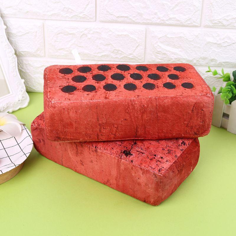 Sponge Lifelike Simulation Tile Brick Pillow Eye-Hand Coordination Fun Antistress Novelty Anti Stress Toys Q6PD