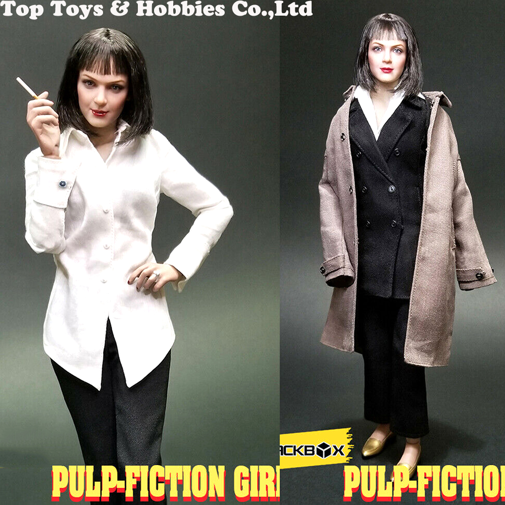 Full set doll for collection Pulp Fiction Girl Mia Wallace 1/6 Female Figure Body Toys BBT9011 Acces