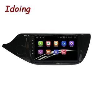 "Image 2 - Idoing 9 ""araba Android9.0 radyo multimedya oynatıcı KIA Cee d CEED JD 2012 2016 PX5 4G + 64G 8 çekirdekli GPS navigasyon 2.5D TDA 7850"