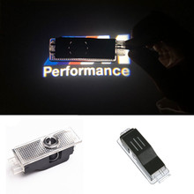 2x LED Car Door Courtesy Laser Projector Logo Light For BMW M Performance E90 F10 F30 E60 X3 X5 X6 E92 M3 M5 M6 Z4 E61 E93 E63