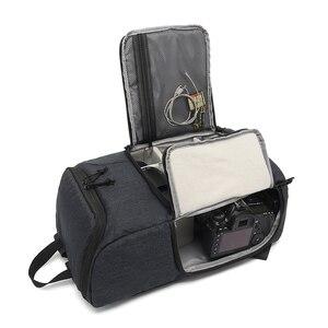 Image 4 - Multi Functionalกระเป๋ากล้องกันน้ำกล้องกระเป๋าเป้สะพายหลังแบบพกพากลางแจ้งถ่ายภาพกระเป๋ากล้องสำหรับCanon Nikon DSLR