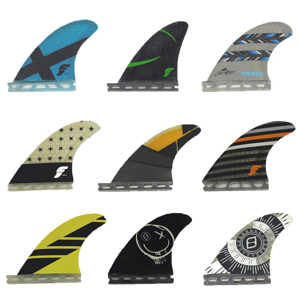 Будущее/Fcs высокая производительность 3 шт./2 шт. вафельная ткань из углеродного волокна стеклопластиковые плавники для серфинговой доски
