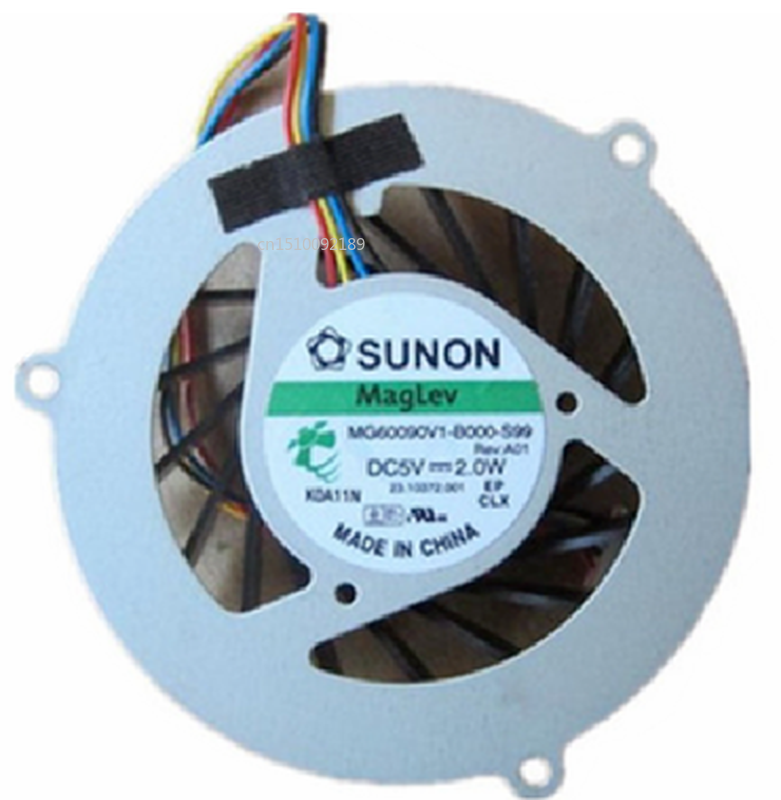 Free Shipping CPU FAN For SUNON MG60090V1-B000-S99 DC5V 2.0W Laptop Cooling Fan