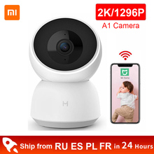 Xiaomi Mijia Smart Camera 2K 1296P 1080P HD WiFi Night Vision 360 Angle Video Action IP Cam Baby Security Monitor for MI Home