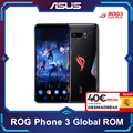 Globale ROM ASUS ROG 3 Telefon 5G Smartphone Snapdragon 865/865Plus 128GB 6000mAh NFC Android Q 144Hz FHD + AMOLED Gaming Telefon ROG3