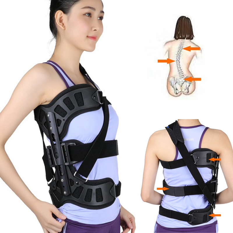 NEW Adjustable Scoliosis Posture Corrector Spinal Auxiliary Orthosis for Back Postoperative Recovery Adults Health Care Hot Sale