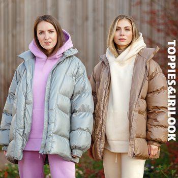 Toppies hiver manteau surdimensionné femmes veste bouffante plus épais chaud rembourré vêtements vêtements amples 1