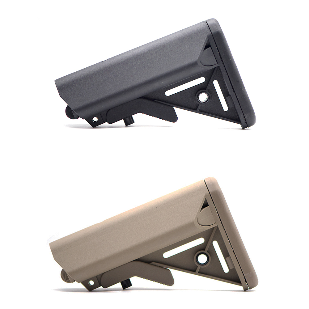 High Quality MK18 Nylon Stock For Airsoft AEG Air Gun M4 AK Gel Blaster J8 J9 CS Sports Paintball Accessories