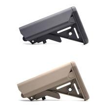 Alta qualidade mk18 nylon estoque para airsoft aeg, arma de ar m4 ak gel blaster j8 j9 cs esportes paintball acessórios