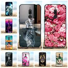For Meizu M6T Case Ultra-slim Soft TPU Silicone For Meizu M6T Meiblue 6T Cover Flowers Patterned For Meizu M6T Meilan 6T Shell все цены