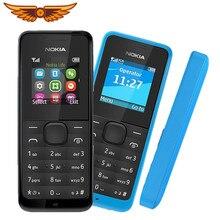 Nokia-teléfono móvil Original desbloqueado con Radio FM, Tarjeta SIM Dual, buena calidad, envío gratis, 105