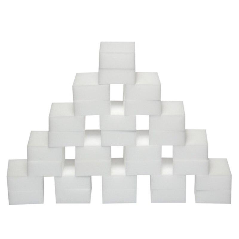 200 pçs esponja borracha cozinha espanador toalhetes casa limpo acessório microfibra prato limpeza melamina esponja atacado 100*60*7mm